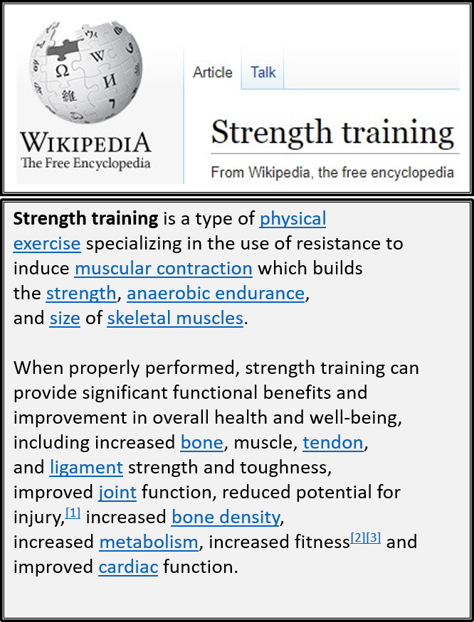 strength training workouts at home