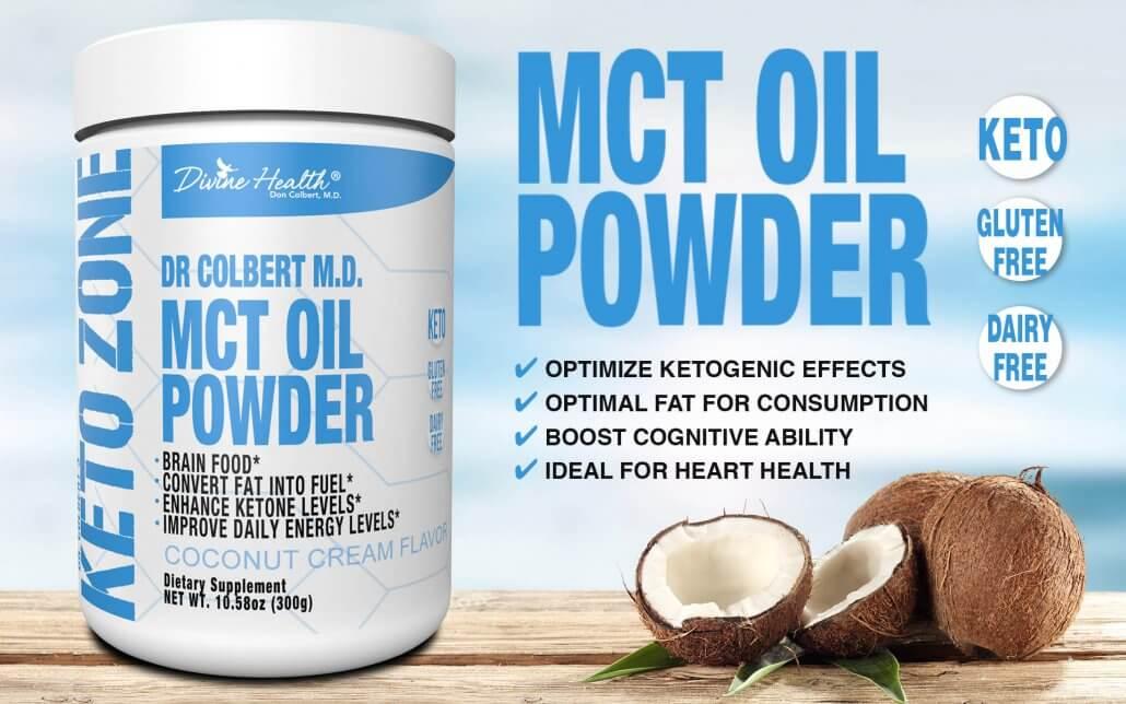 5 health benefits of MCT oil powder
