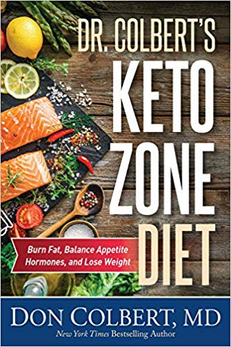 dr colbert keto zone diet book