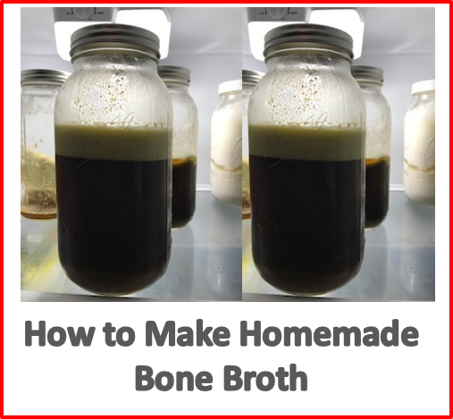 make homemade bone broth