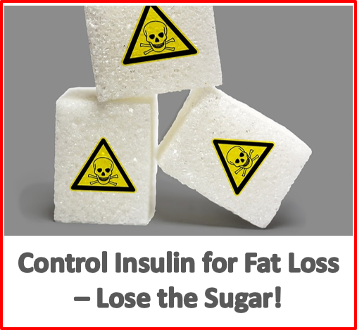 control insulin for fat loss